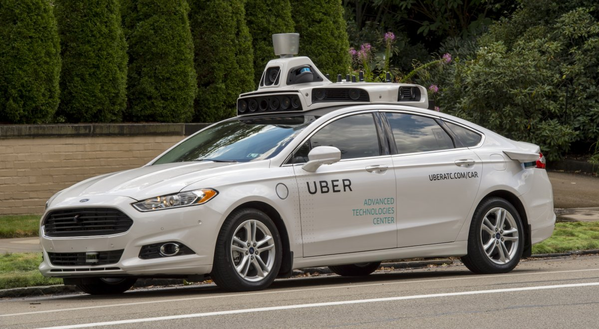 Inside UBER self-driving car