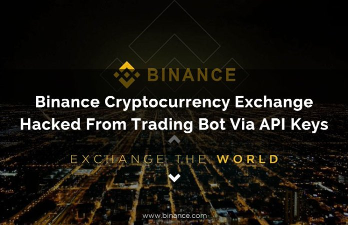 Binance offers US$250,000 hacker bounty